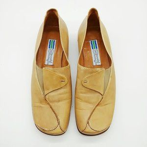 Arnold Churgin leather tan shoes